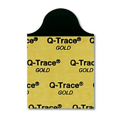 ECG Resting Electrodes, Q-Trace Gold, 100/pk