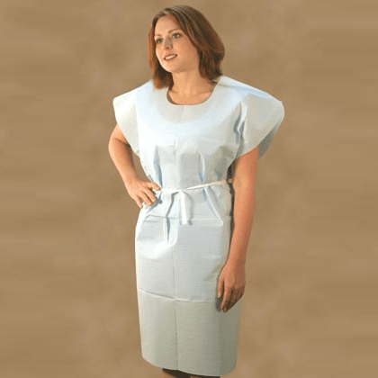 Paper Gown, White