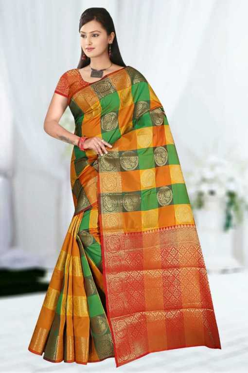 Soft Silk With Weaving Work Saree