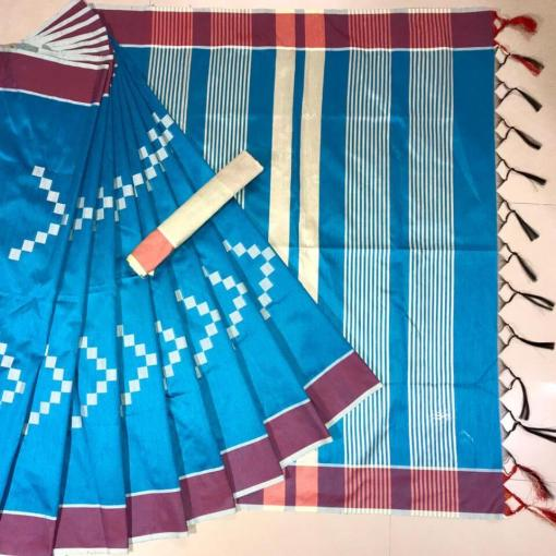 Banglori Raw Silk Saree