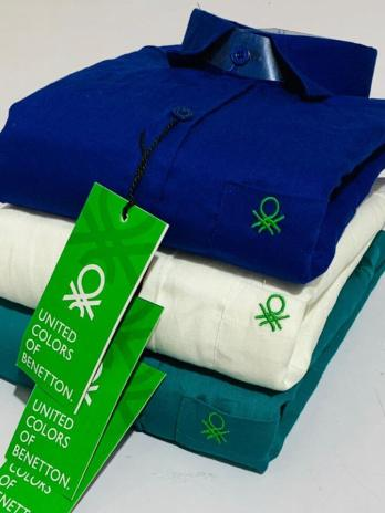 Branded Twill Cotton Shirts