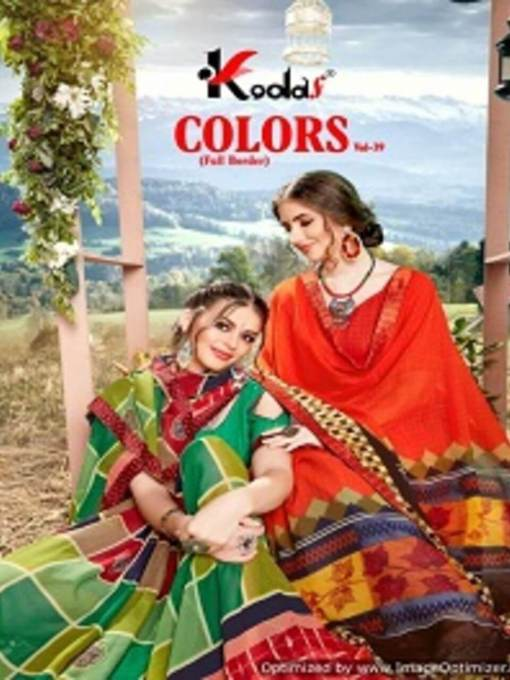Colors 39 Dani Printed Saree