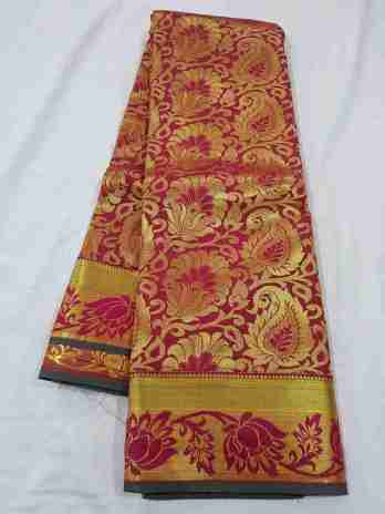 Kanchipuram Blended Silk Saree