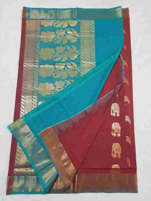 Kanchipuram Blended Soft Silk Saree