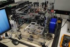 sneak peak of the forthcoming Velleman k8400 Vertex 3d printer