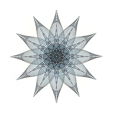 Aqua Star Flower 2