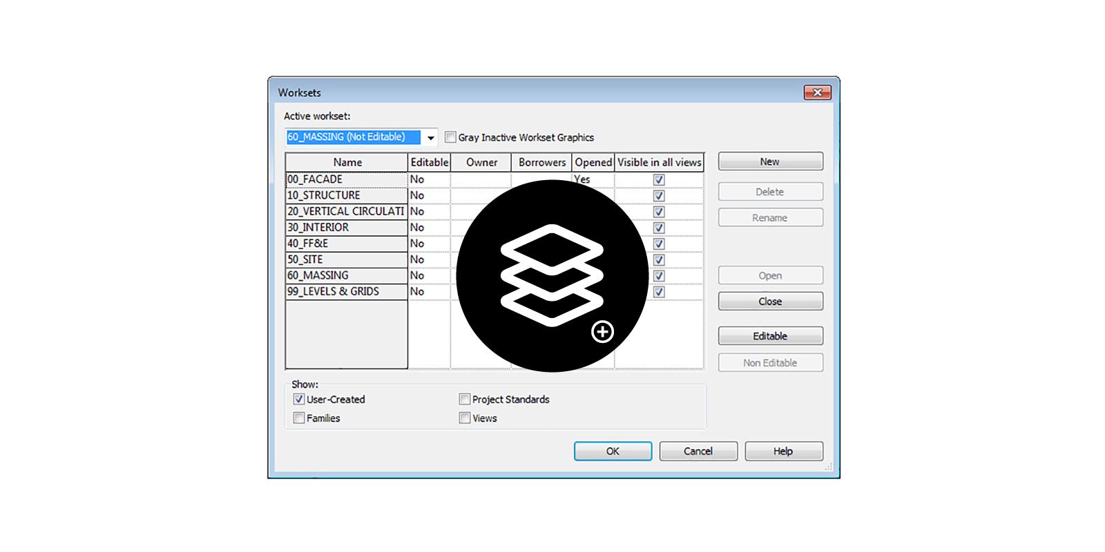 Create & rename worksets   parametricmonkey