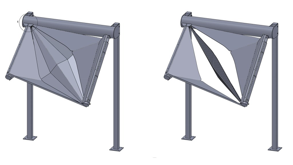 Prototype digital model generated with Solidworks