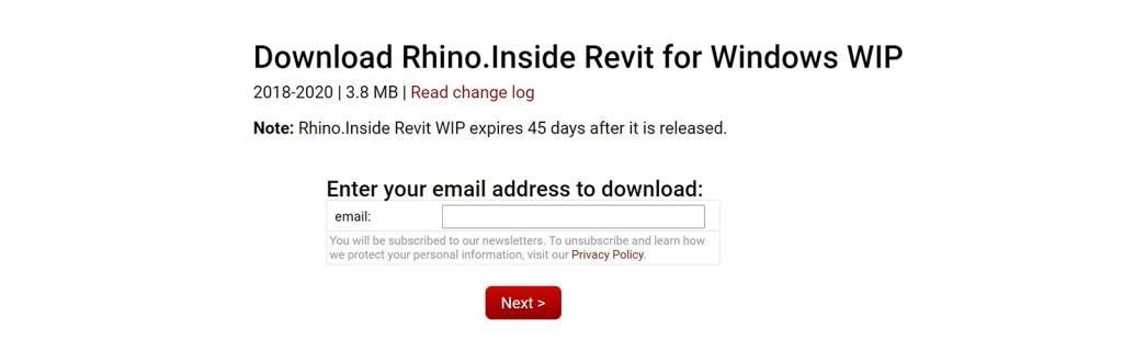 Rhino.Inside Revit download