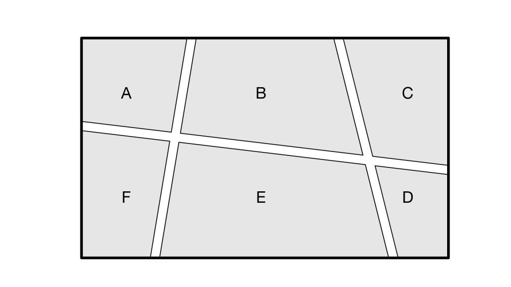 Partition floorplan