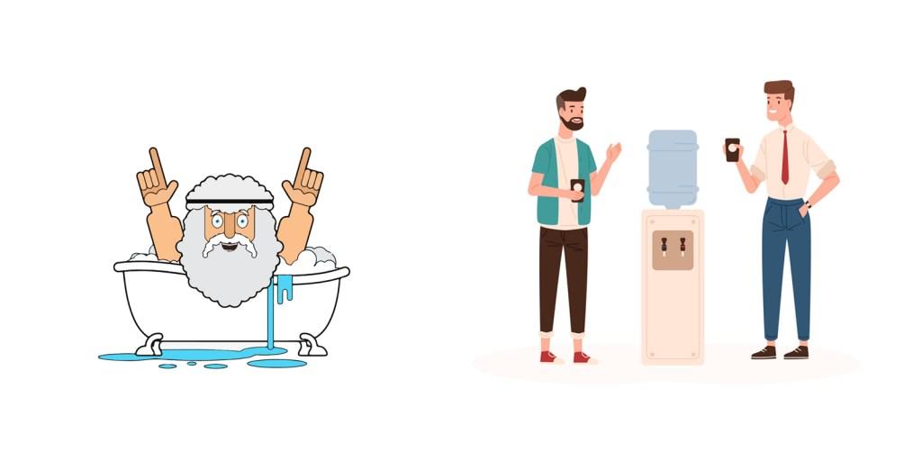 Eureka vs Water cooler