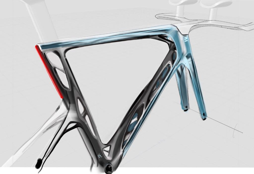 Decathlon's generative designed time trial bike