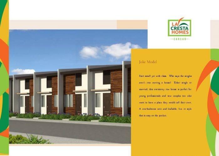 La Cresta Homes Carcar City Cebu - Jolie Model House