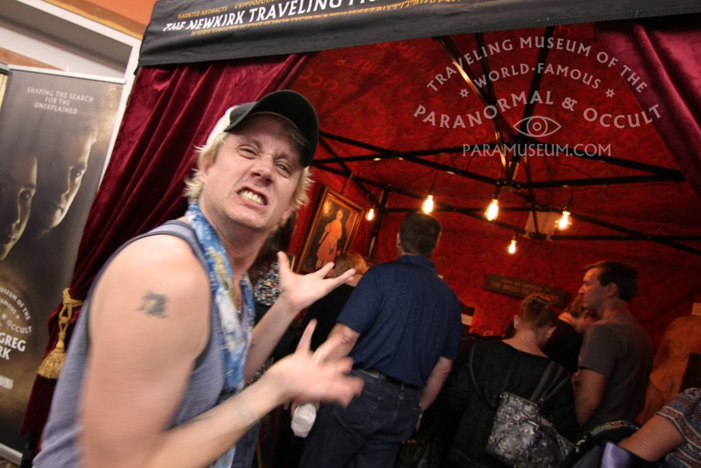 Supernatural's Chad Lindberg excitedly attended the new exhibition both fast and furiously.
