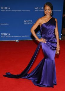 WASHINGTON, DC - APRIL 30:  Jada Pinkett Smith attends the 102nd White House Correspondents' Association Dinner  on April 30, 2016 in Washington, DC.  (Photo by Paul Morigi/WireImage)