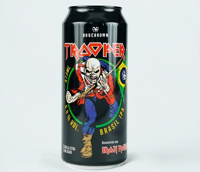 Trooper Day: festa marca lançamento de cerveja do Iron Maiden na Bodebrown