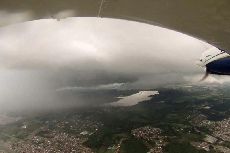 Sanepar faz chover na Região Metropolitana de Curitiba