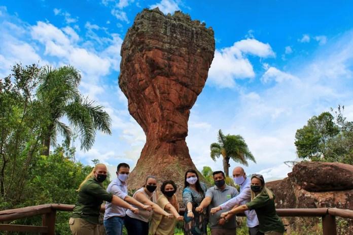 Parque Vila Velha quer ser um hub do turismo nos Campos Gerais do Paraná