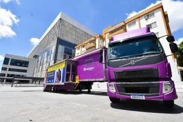 Exames da Covid-19 serão realizados em unidade móvel na Arena da Baixada