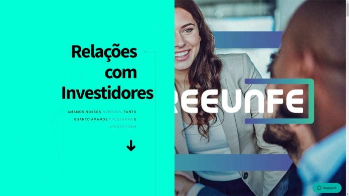 Treeunfe cria portal de Relacionamento com Investidores