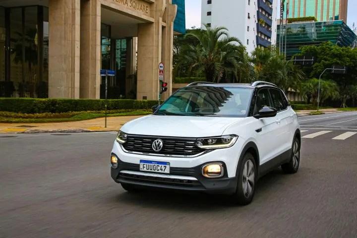 T-Cross, SUV da VW fabricado no Paraná, é líder em vendas na Argentina