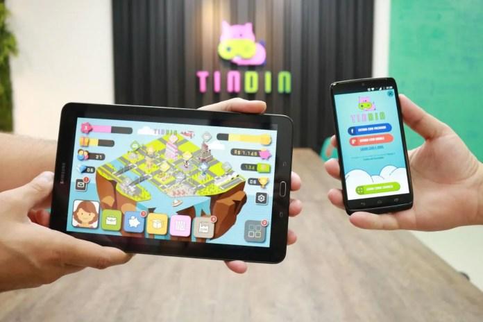 Tindin é destaque de educação financeira em plataforma do grupo SOMOS