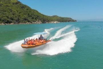 O Snorkel Tour com Bombinhas SpeedBoat é uma experiência de tirar o folego - Foto: Divulgação