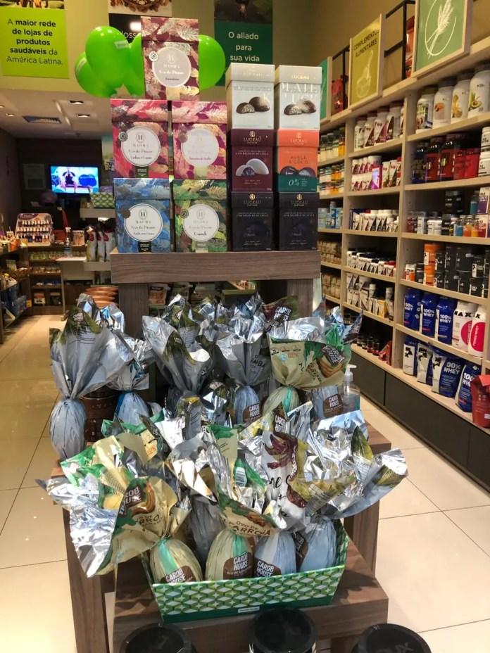 Lojas no Boulevard Shopping Londrina oferecem opções de ovos de chocolate que vão do tradicional ao vegano