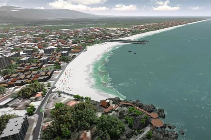Recuperação da orla de Matinhos terá duas etapas; primeiro investimento será de R$ 397,2 milhões