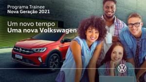 VW do Brasil abre inscrições para Programa Trainee - Nova Geração 2021