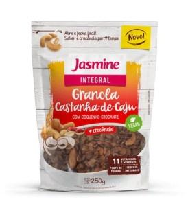 Pioneira na produção de granolas no Brasil, Jasmine Alimentos lança novo sabor