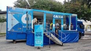 Caminhão Você no Azul chega a Curitiba para regularização de dívidas