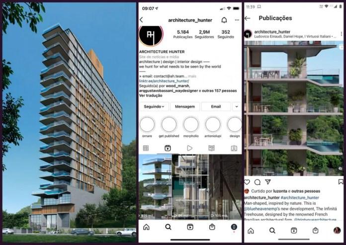 Infinitá Treehouse ganha projeção internacional no perfil da Architecture Hunter