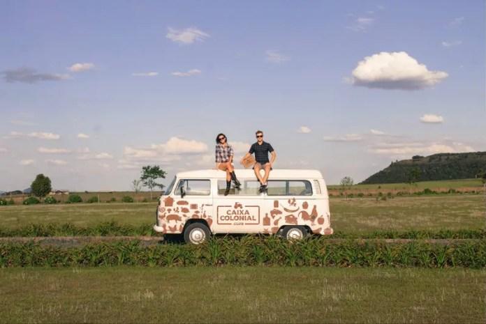 Jeferson Jess e a sócia Andrea Machado Sígolo viajam em busca de produtos especiais e diferenciados (Crédito - Jeferson Jess)