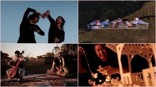 Projeto oferece gratuitamente a exibição remota de um videoarte e 6 minidocumentários sobre coretos do Paraná