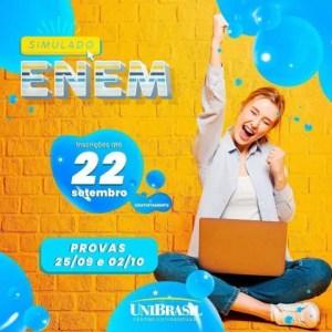 UniBrasil está com inscrições abertas para exame simulado ao Enem