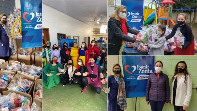 Instituto Joanir Zonta realiza ação de Dia das Crianças em instituições beneficentes