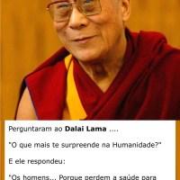 Dalai Lama e a Humanidade