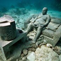 Jason deCaires Taylor: underwater sculptures