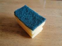 A simple dishwashing sponge