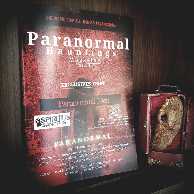 Paranormal Hauntings Magazine: Issue 1 – FREE to Read
