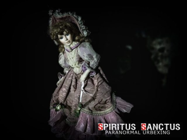 ELIZABETH AKA LIZZY [THE HAUNTED DOLL]