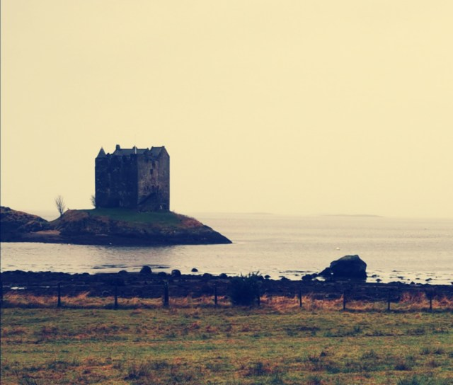 The Haunting Look of Castle Stalker