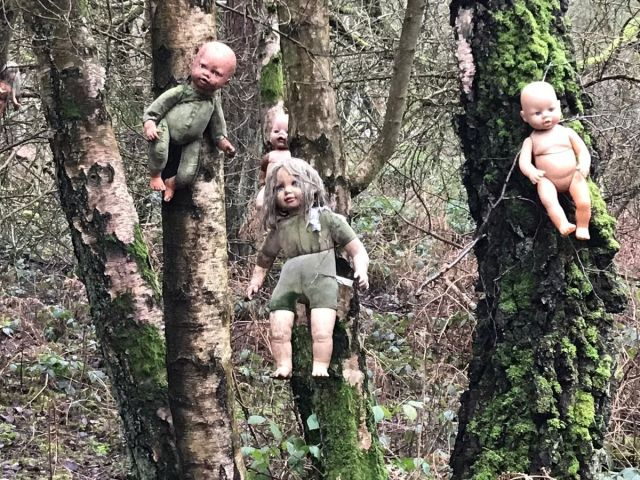 Cannock Chase Dolls | Used as a Prop