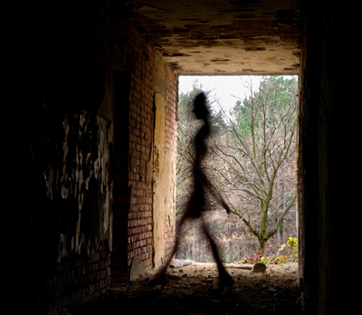 Have you ever Encountered a Shadow Person? Our Spirit Box Capture St John Church Ruins