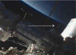 Ovni: La NASA coupe une transmission avec l'ISS