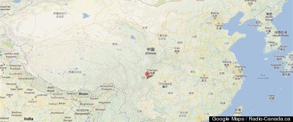 Chine: Séisme de magnitude 6,6 dans la province du Sichuan