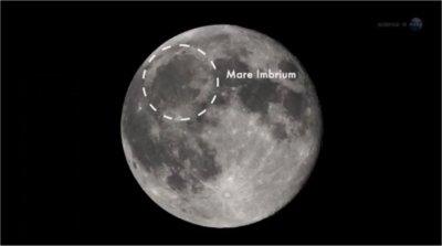 Une météorite a frappé la Lune