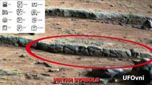 Curiosity: Des gravures Maya et des objets religieux sur Mars