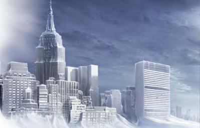 Le refroidissement global s'approchant de l'Arctique menace la planète